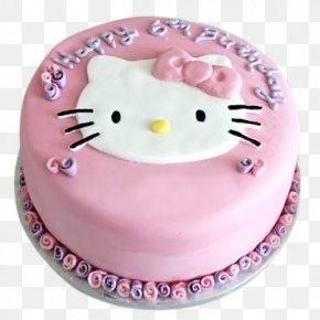 Kitten Cake - Birthday Cake Hello Kitty Bakery Cake Decorating PNG