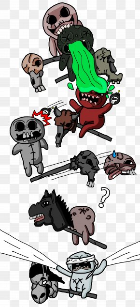 Headless - The Binding Of Isaac Book Of Shadows Four Horsemen Of The Apocalypse Video Game PNG