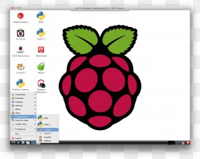 Raspberry - Raspberry Pi Raspbian Computer Software Linux Graphical User Interface PNG