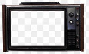 Old Television - Television Set PNG