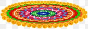 Indian Carpet With Flowers Transparent Clip Art Image - Carpet Cleaning Table Magic Carpet Clip Art PNG