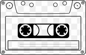 Cassette Cliparts - VHS Compact Cassette Videotape Clip Art PNG