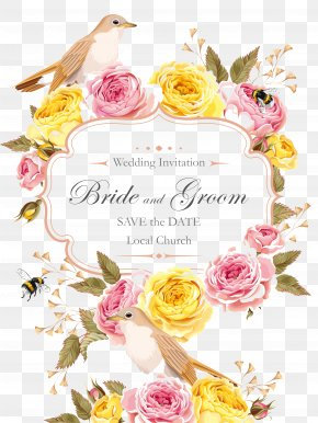 Pattern Wedding Greeting Cards - Wedding Invitation Marriage Greeting Card Save The Date PNG