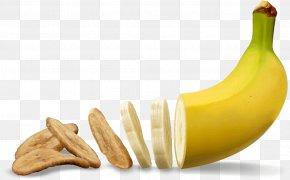Banana - Banana Chip Fruit Potato Chip Food PNG