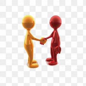 3D Villain Handshake Business - Mumbai Joint Venture Business Service Company PNG