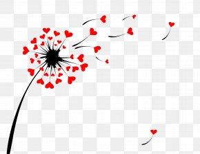 Dandelion - Dandelion Heart Illustration PNG