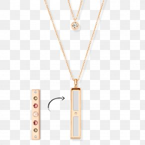 Colored Silver Ingot - Locket Necklace Jewellery Gold Chain PNG