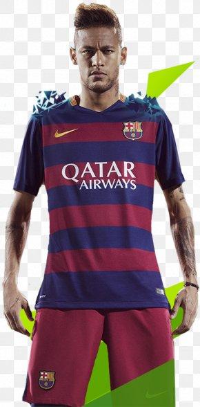 Neymar - Neymar FC Barcelona Cheerleading Uniforms Pro Evolution Soccer 2016 Brazil National Football Team PNG
