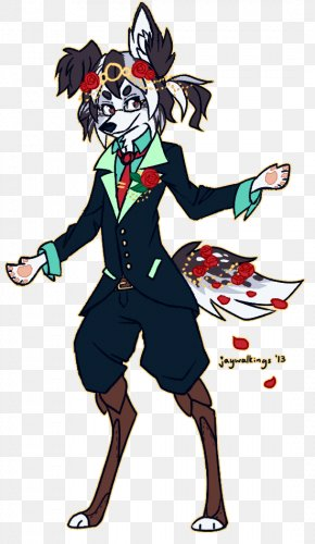 Border Collie Size - Art Costume Design PNG