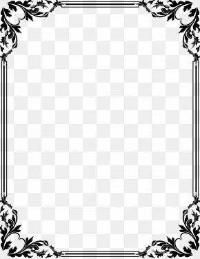 Certificate Border - Graphic Design Art Clip Art PNG