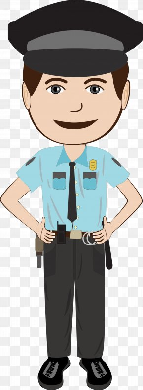 Vector Police - Police Officer Royalty-free Illustration PNG
