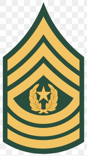 Army - Sergeant Major Of The Army Military Rank United States Army PNG