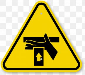 Caution Triangle Symbol - Warning Sign Hazard Symbol Clip Art PNG