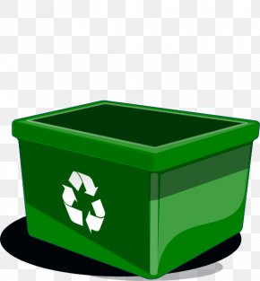 Cartoon Recycle Guy - Paper Recycling Bin Waste Container Clip Art PNG