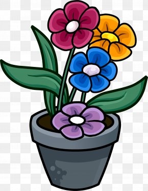 Flower Pot - Flowerpot Drawing PNG