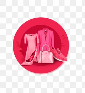 Taobao Background - Pink M PNG