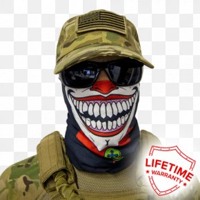 Clown - Face Shield Mask Joker Clown PNG