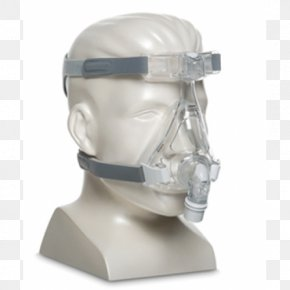 Mask - Respironics, Inc. Continuous Positive Airway Pressure Full Face Diving Mask PNG