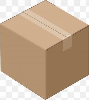 Cardboard Box - Cardboard Box Corrugated Fiberboard Clip Art PNG