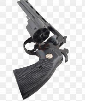 357 Magnum - Revolver Colt Python Trigger .357 Magnum Firearm PNG