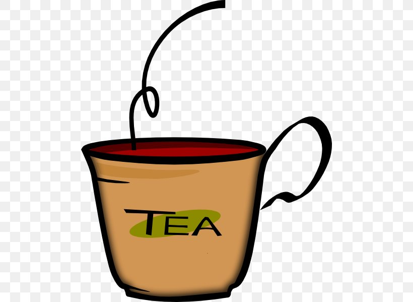 Tea Coffee Drink Cup Clip Art, PNG, 498x599px, Tea, Black ...