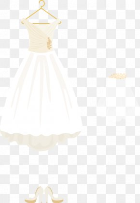 Vector Wedding - Gown Clothes Hanger Neck Clothing PNG