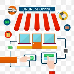 Vector Online Shopping - Mobile App Application Software E-commerce Vector Graphics Editor PNG