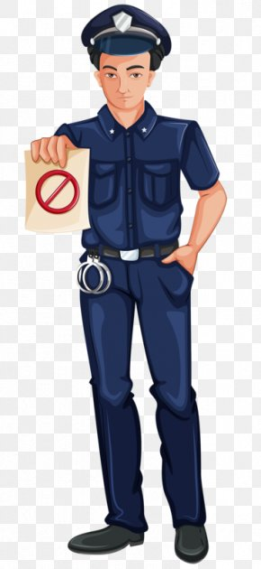 Serious Police - Police Officer Royalty-free Illustration PNG