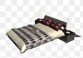 Furniture Beds - Bed Frame Furniture Sofa Bed PNG