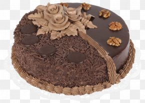Chocolate Cake - Chocolate Cake Cupcake Cheesecake Sponge Cake Cream PNG