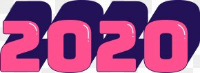 Number Logo - 2020 Happy New Year 2020 Happy New Year PNG