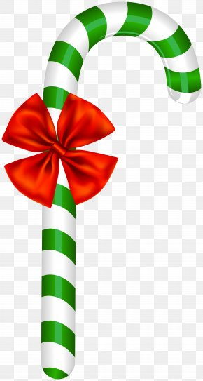 Peppermint - Candy Cane Christmas Day Image Clip Art PNG