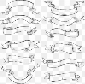 Red Ribbon Image - Drawing Banner Graphic Arts PNG