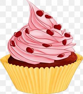 Muffin Soft Serve Ice Creams - Cupcake Food Dessert Icing Cake PNG