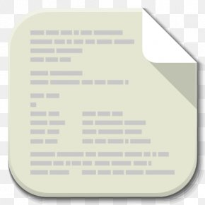 Apps File Text Plain - Text Material Font PNG