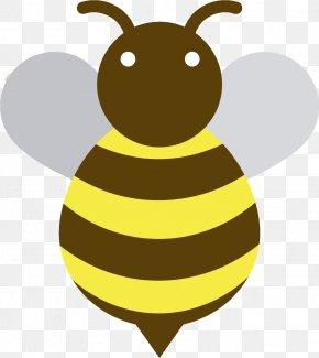Golden Bee - Bee Euclidean Vector Animal PNG