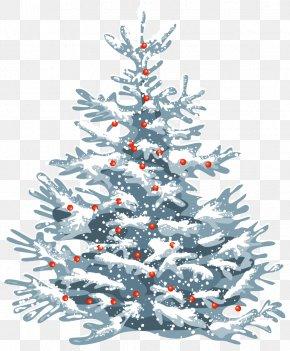 Christmas Tree - New Year Tree Christmas Day Christmas Tree Vector Graphics PNG