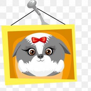 Vector Pet Dog - Whiskers Dog Clip Art PNG