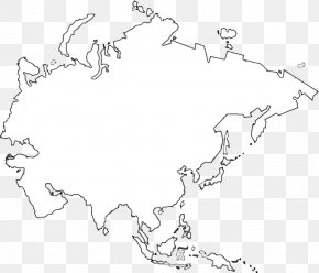 Asia Europe Continent Blank Map, PNG, 1280x809px, Asia, Art ...