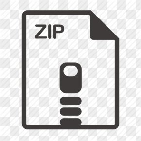 File Zip Icon Svg - Zip Text File Computer File PNG
