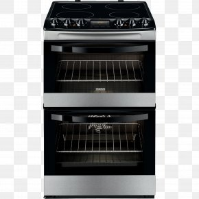 Cooker - Electric Cooker Cooking Ranges Zanussi Oven PNG