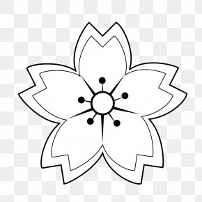 Flower Tattoos Black And White - Flower Black And White Clip Art PNG