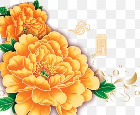 Peony - Mid-Autumn Festival Floral Design Fundal World Wide Web PNG