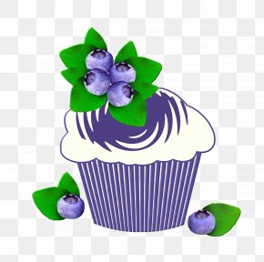 Blueberries - Muffin Pound Cake Birthday PNG