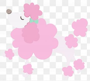 Mallow Family Hibiscus - Pink Flower Cartoon PNG