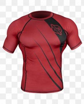 T-shirt - Rash Guard Sleeve Brazilian Jiu-jitsu Clothing T-shirt PNG