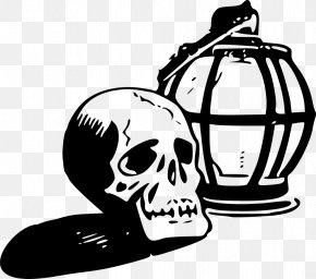 Skull - Skull And Crossbones Calavera Skeleton Clip Art PNG