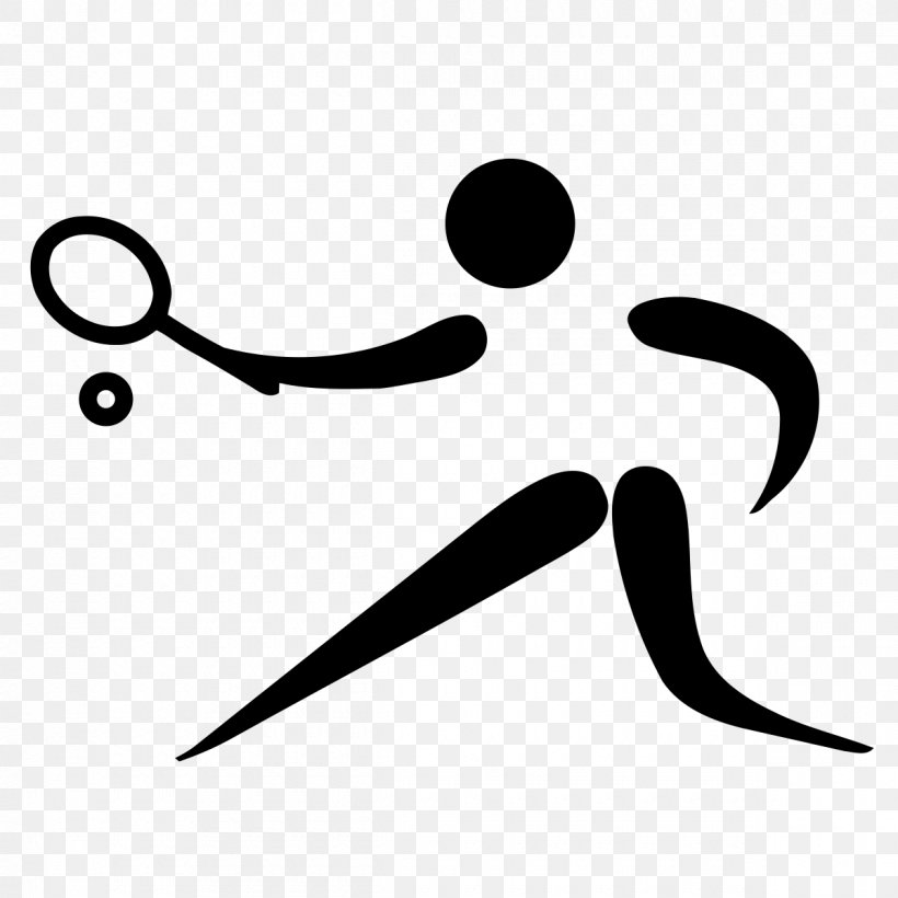 Tennis At The 2012 Summer Olympics Tennis At The 2017 Island Games Clip Art, PNG, 1200x1200px, Tennis, Black And White, Racket, Scalable Vector Graphics, Sport Download Free