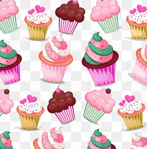 Marshmallow Cake Picture Material - Cupcake Birthday Cake Muffin Bakery Cream PNG