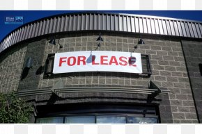 Banner Sign - Facade Window Building Property Display Device PNG